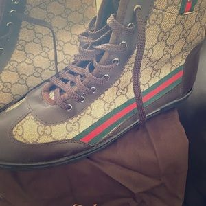 Brown Gucci Sneakers
